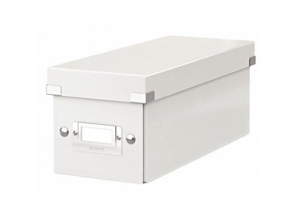 Škatuľa na CD Click & Store biela