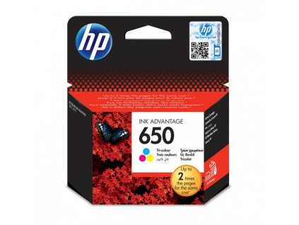 Atramentová náplň HP CZ102AE HP 650 pre Deskjet Ink Advantage 1515/2515/2545/2645 color (200 str.)