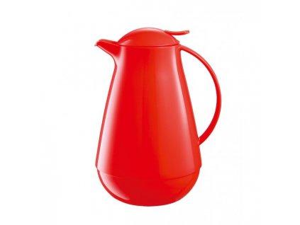 Termoska plastová FAMILY COLORI 1l červená