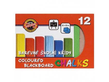Krieda školská, 12 farieb