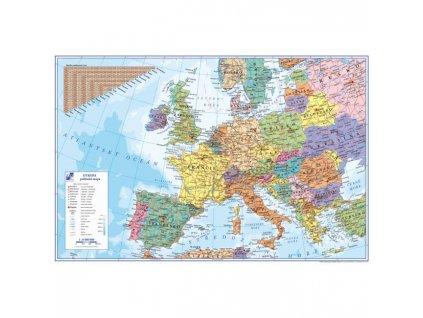 Podložka na stôl KARTON PP s mapou Európy 40x60cm