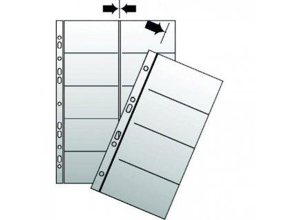 Náhradné obaly do vizitkára A5 KARTON PP 10ks