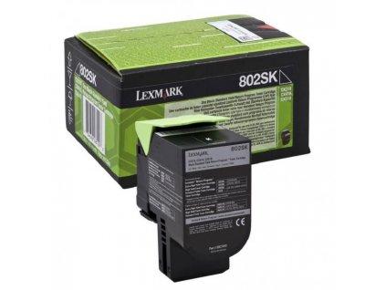 Toner Lexmark 802SK pre CX310/CX410/CX510 black (2.500 str.)