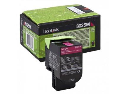 Toner Lexmark 802SM pre CX310/CX/410/CX510 magenta (2.000 str.)