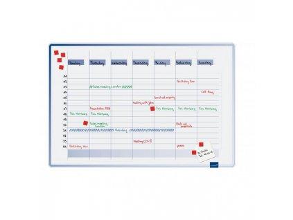 Plánovacia tabuľa týždenná ACCENTS 60x90 cm