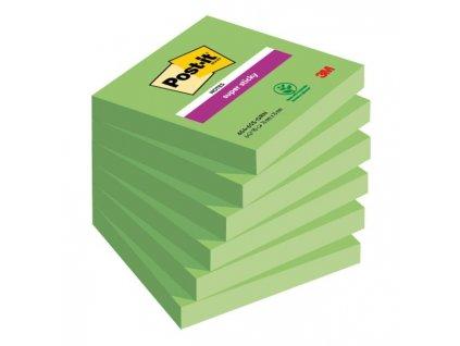 Bločky Post-it Super Sticky - Špargľa 76x76mm