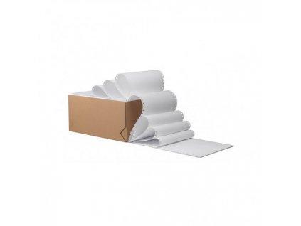 Tabelačný papier 12`x25cm/1+0 2000 zložiek