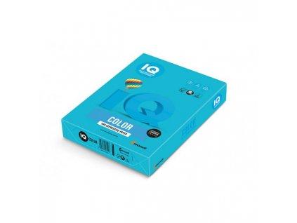 Farebný papier IQ color azúrovo modrá AB48, A4 80g