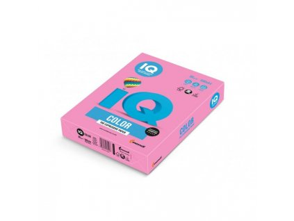 Farebný papier IQ color neónovo ružový NEOPI, A4 80g