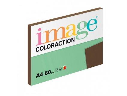 Farebný papier Image Coloraction A4 80g hnedý 100 hárkov