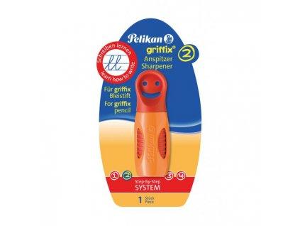 Strúhadlo Pelikan Griffix oranžové