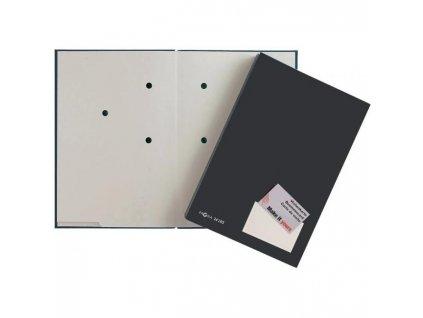 Podpisová kniha plastová 20 PAGNA čierna