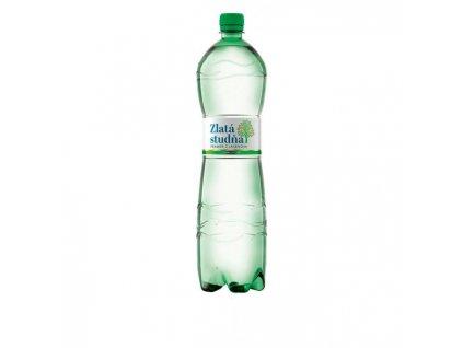Pramenitá voda Zlatá studňa jemne sýtená 1,5l
