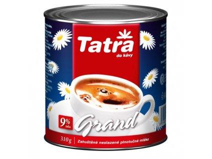 Zahustené mlieko Tatra Grand nesladené 9% 310g