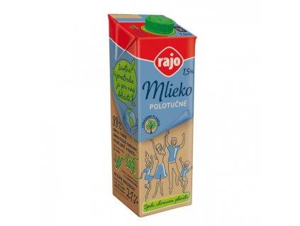 Trvanlivé mlieko RAJO polotučné 1l