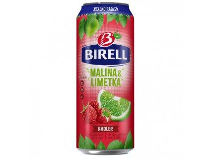 Pivo Birell nealko 0,5l 24ks Limetka & Malina plech