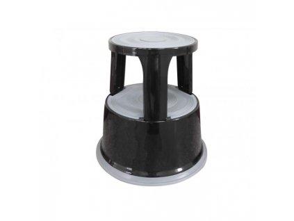 Stupienok kovový Q-Connect čierny