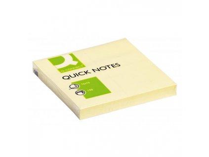 Bloček Q-CONNECT žltý 76x76mm