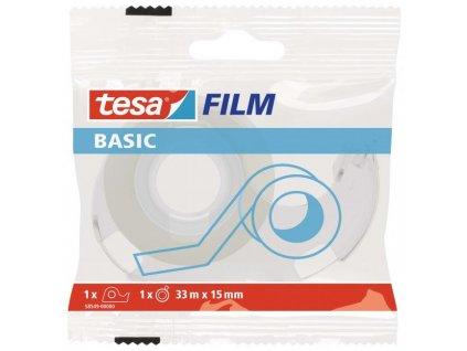 Lepiaca páska TESA basic 15mm x 33m s odvíjačom