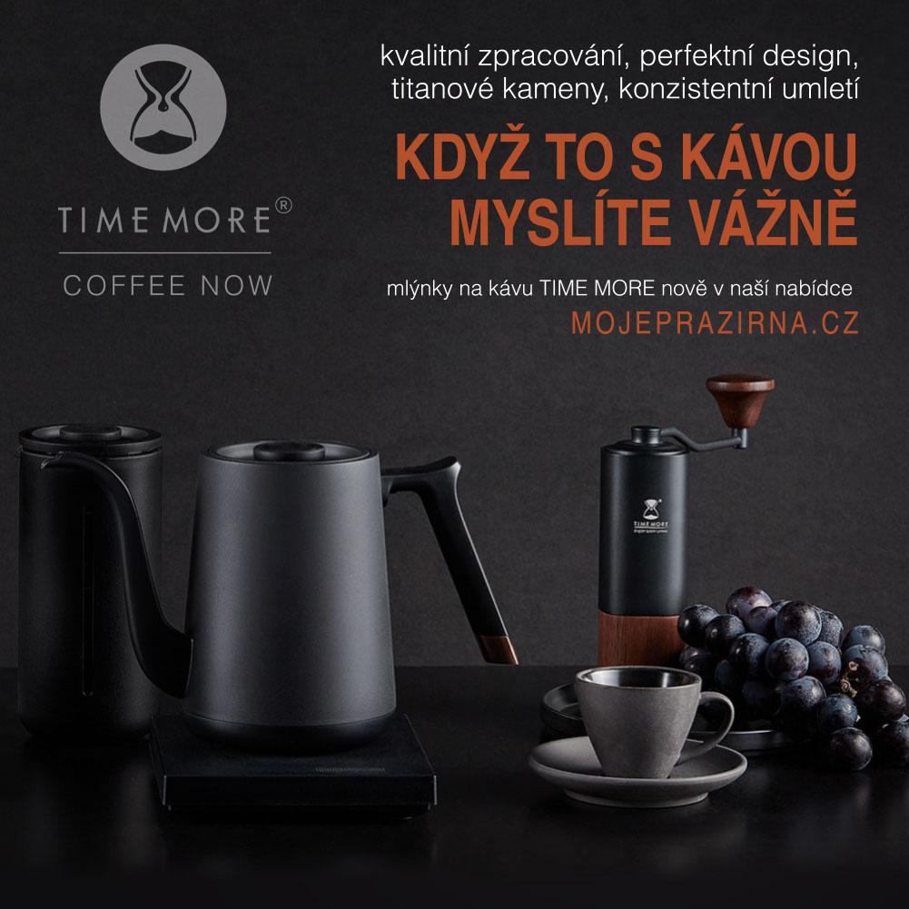 Mlýnky na kávu TIME MORE