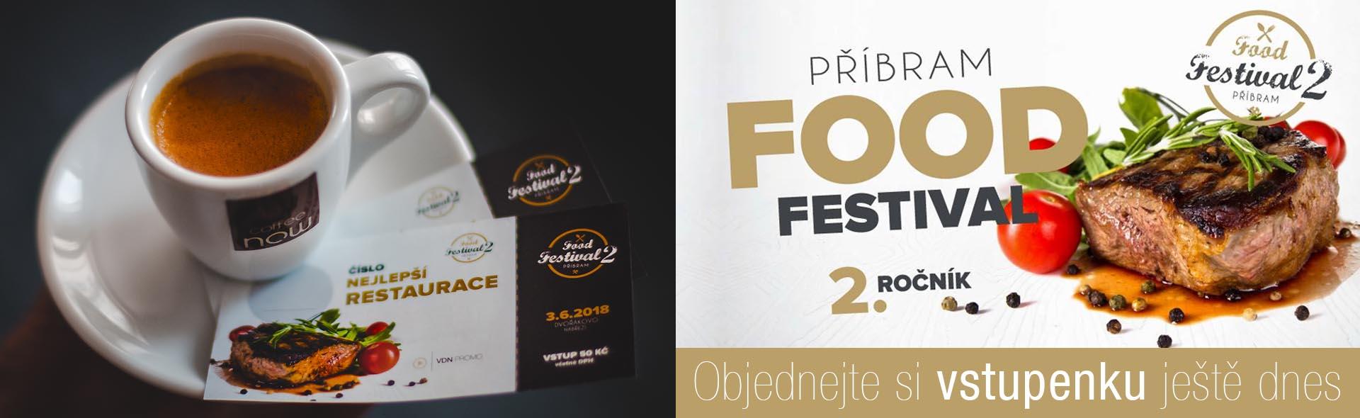 Předprodej vstupenek na PŘÍBRAM FOOD FESTIVAL 2018