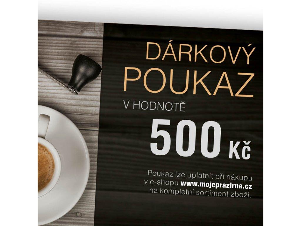 Darkovy poukaz COFFEE NOW 500 Kc