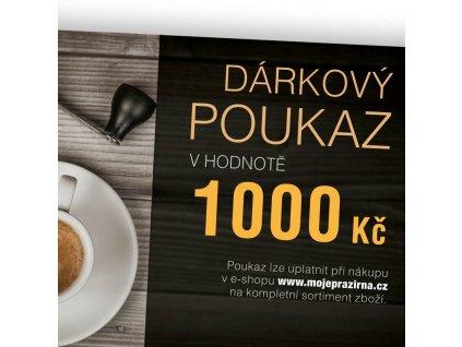 Darkovy poukaz COFFEE NOW 1000 Kc
