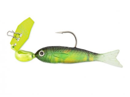 175g chatterbait flashback mini chartreuse rainbow 1