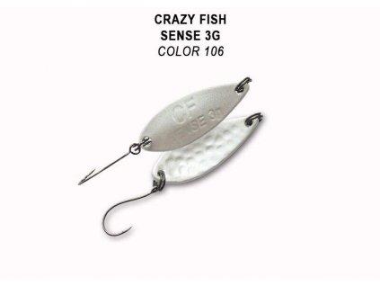 Plandavka Crazy Fish Sense 32 mm 3 g color 106
