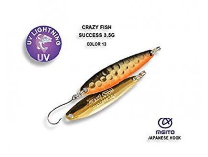 Plandavka Crazy Fish Success 40 mm 3,5 g color 13