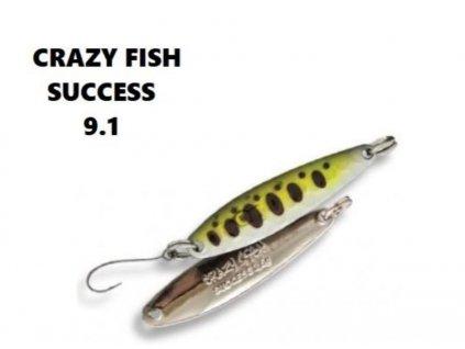 Plandavka Crazy Fish Success 40 mm 3,5 g color 9.1
