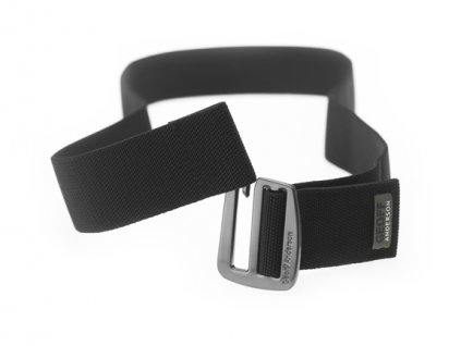 opasek/belt elastický (metal+black) velikost XXL/XXXL