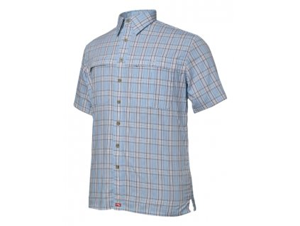 TONGA GEOFF Anderson košile kr.r. modrá velikost XS