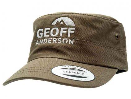 Kšiltovka Geoff Anderson - flexfit modrá