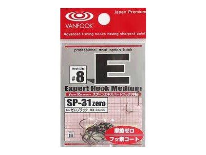 Háčky značky Vanfook jsou jedny z nejlepších háčků pro přívlač té nejvyšší úrovně a Japonské kvality. Ty nejostřejší, nejpevnější a nejkvalitnější háčky pro přívlač naleznete nevíce na MojePrivlac.cz
