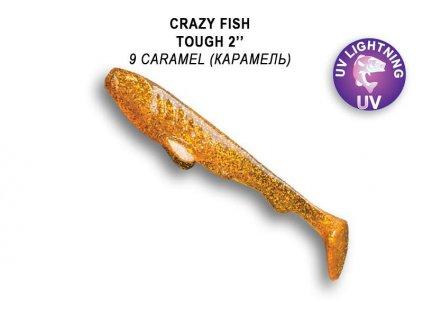 7546 tough 5cm barva 9 caramel baleni 8ks