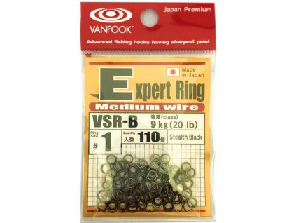 Kroužky Vanfook Expert ring VSR-B #0 2,7mm 7kg 110ks