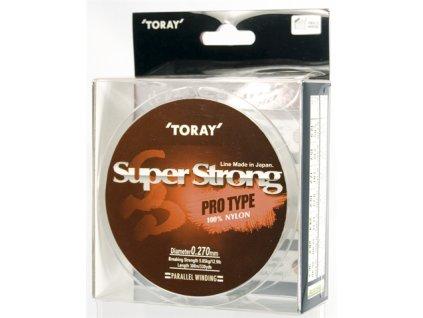 Vlasec pro přívlač Toray Nylon Super Strong 0,152mm 2,21kg