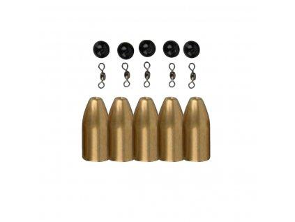 Savage Gear Brass Bullets Kit´s pro Carolinu nebo Texas