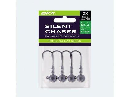 BKK: Jigová hlavička Silent Chaser Round Head RH-1 10g Velikost 2/0 4ks