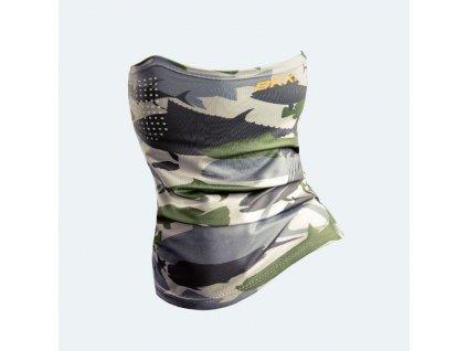 BKK: Nákrčník O3 Shield Camouflage