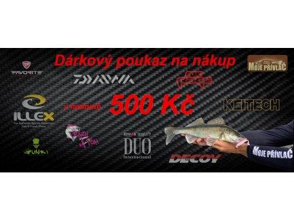 87204 1 darkovy poukaz na nakup v hodnote 500 kc