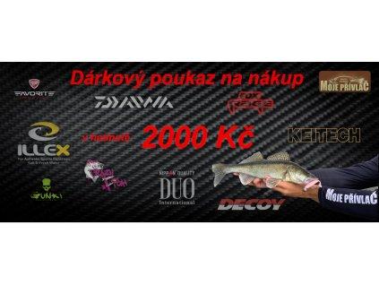 darkovy poukaz 2000 bez kodu Mojeprivlac