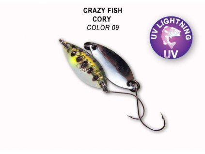 Plandavka Crazy Fish Cory 21 mm 1,1 g color 09