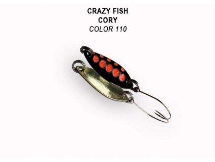 Plandavka Crazy Fish Cory 21 mm 1,1 g color 110