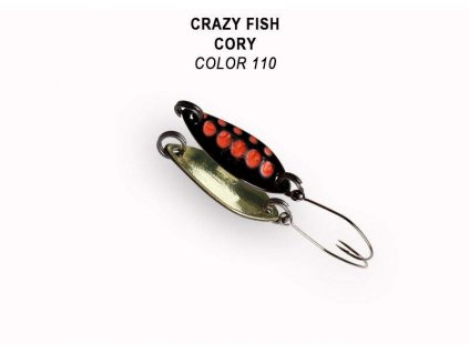 Plandavka Crazy Fish Cory 21 mm 1,1 g color 110