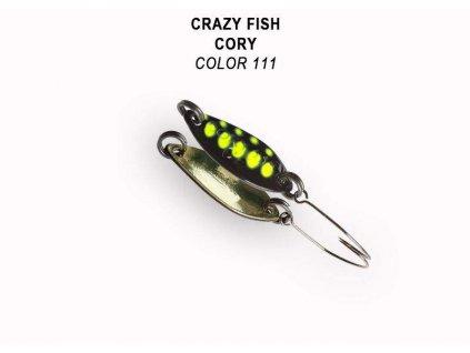 Plandavka Crazy Fish Cory 21 mm 1,1 g color 111