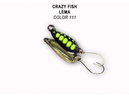 Plandavka Crazy Fish Lema 23 mm 1,6 g color 111