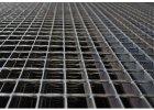 Podlahový oceľový rošt SP/34x38/30x2/1000x1000, Zn