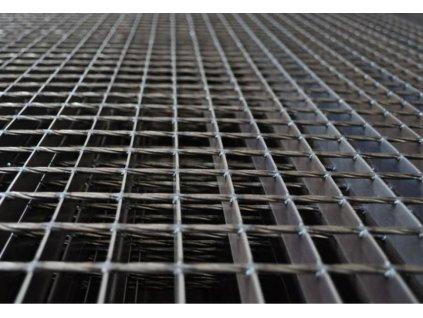 Podlahový oceľový rošt SP/34x38/30x2/700x1000, Zn